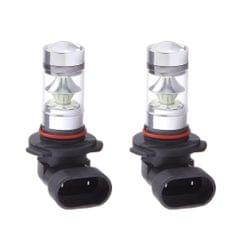 2 Pieces Car 9005 HB3 100W Ice Blue LED Bulb For Fog Running DRL Light Lamp