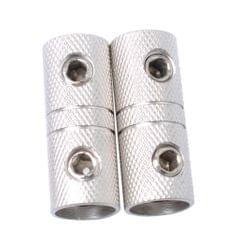 2 Pieces 4 AWG Speaker Wire Coupler Butt Connector Terminal Joiner Screw