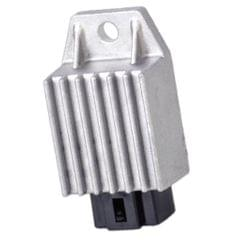 Replacement Assembly 12V 4 Pin Voltage Regulator Rectifier for GY6 50cc 110cc 125cc 150cc Moped Scooter ATV
