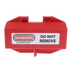 Electrical Large Plug Lockout Tagout Box Lock Device, Accommodates 2-4 padlocks which shackles of up to 7mm/0.28inch outside diameter