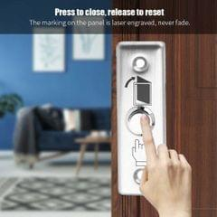 Stainless Steel Door Exit Push Release Button Switch For Access Control