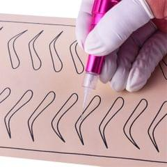 100 Pieces Microblading Permanent Makeup Needles For Tattoo Eyebrow Pen 3R