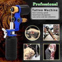 Professional Assorted Rotary Tattoo Liner Shader Machine Motor Tool Set Blue