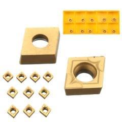 10x CCMT060204 US735 CCMT21.51 Lathe CNC Carbide Blades Inserts