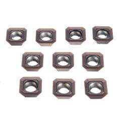 10x Carbide Inserts SEHT1204AFSN-X45 PC9035 / SEHT43AFSN-X45