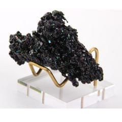 Display Stand Gemstone Mineral Specimen Stand Citrine Amethyst Geode Stand