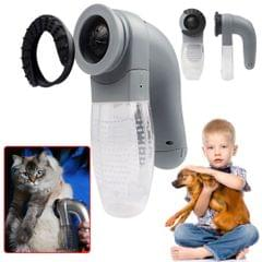 Pet Grooming Vacuum Cleaner AUTO Hair Cat Dog Suction Remover Shaver Massage