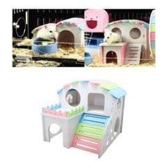Hamster House Small Animal Hideout Mini Hut Hamster Cabin Cage