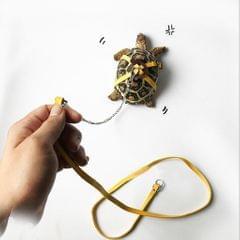 Adjustable Reptile Lizard Turtle Harness Leash for Pet Small Animal  yellow