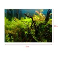 Aquarium Background Poster Fish Tank Wallpaper Sticker Underwater Decor XL