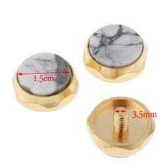 Colored Trumpet Finger Buttons Musical Brass Instrument Parts Multicolor