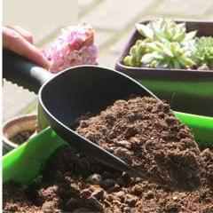 Thickened Plastic Shovel Gardening Flowering Loose Soil Tool Black