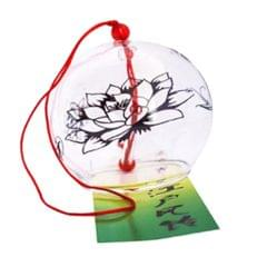 Lucky Wind Chime Home Door Garden Car Hanging Decor #6 Clear