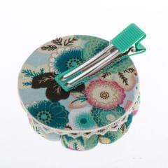Pumpkin Needle / Pin Cushion with Fixable Clip Pincushion Sewing Tool Green