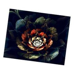 Full Drill Flower 5D Diamond Embroidery Painting Kit DIY Craft Red