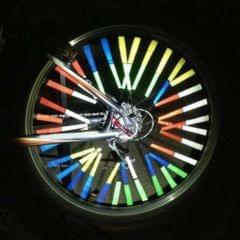Bicycle Bike Spoke Reflectors Reflector Reflecteur Clip Outdoor Yellow