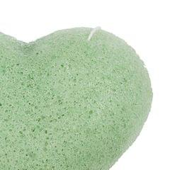 Konjac Cleaning Sponge Puff Exfoliating Facial Sponge for Deep Clean Green
