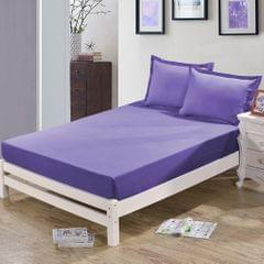 Waterproof Mattress Cover Protector Bed Cover Sheet #1 47x79 inch Purple