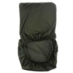 Spandex Stretch Low Short Back Chair Cover Bar Stool Cover Dark Green