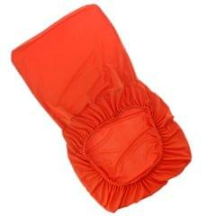 Spandex Stretch Low Short Back Chair Cover Bar Stool Cover Orange