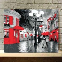 DIY Painting By Numbers Kit Frameless Paint Wall Art Decoration 2 # Night