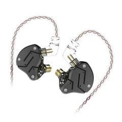 3.5mm In-Ear Stereo Headphone Headset Earphone Earbuds 1BA+ 1DD Black