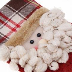 Christmas Santa Snowman Deer Stockings Candy Gift Bag Xmas Hanging Decor C