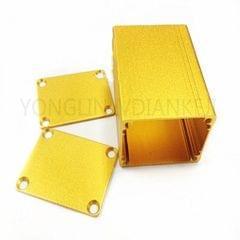 Aluminum PCB Instrument Box Electric Project Enclosure Case DIY 50x39x30mm