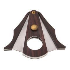 Wooden Cigar Cutting Cutter Scissors V-cut Smoking Cigare Tool Wood