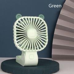 DM-21 Outdoor USB Lazy Hanging Neck Fan Charging Portable Desktop Mute Small Fan(Green)