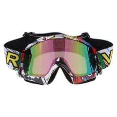 Fashionable Snowmobile Snowboard Goggles Racing Motocross Eyewear Colorful