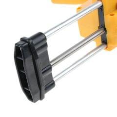 Plastic & Steel Dual-Barrel Caulk Gun Sealant Dispenser 400ml 1:1 Cartridge