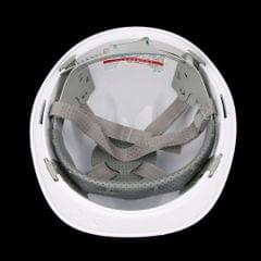 Hard Hat Adjustable Forestry Safety Helmet Work Protective Bump Cap white