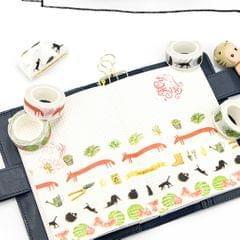 DIY Notebook Decorative Masking Tape Adhesive Paper Sticker 15mm x 10M #5