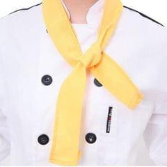 Chefs Hotel Restaurant Kitchen Neckwear Neck Tie Scarf Neckerchief Black