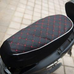 Black Motorcycle Electric Car Scooter Waterproof Seat Cushion Cover L