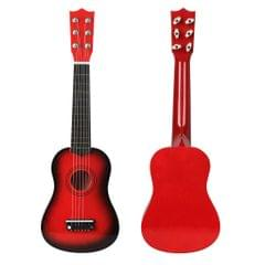 Mini 21inch 6 Strings Acoustic Guitar Musical Instrument Gift Red