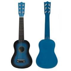 Mini 21inch 6 Strings Acoustic Guitar Musical Instrument Gift Blue