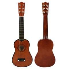 Mini 21inch 6 Strings Acoustic Guitar Musical Instrument Gift Coffee