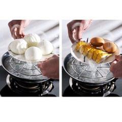 Stainless Steel Steam Rack Plate Steam Holder Pressure Cooker Stand Basket