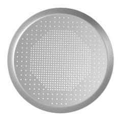 Anodized Aluminum Alloy Pizza Baking Plate Nonstick Coating Hole 6.5 inch