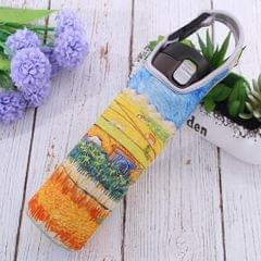 Neoprene Thermal Insulation Cup Sleeve Bottle Tote Cover Holder Cornfield