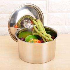 Thicken Stainless Steel Hotel Kitchen Tableware Condiment Pot Oil Can 12CM