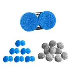 12Pieces Cleaning Cloth Pad for Hobot Window Vacuum Cleaner Robot  Gray