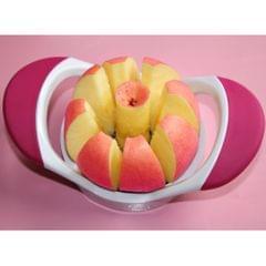 Kitchen Tool Apple Fruit Easy Slicer Corer Cutter Stainless Steel Rose Red