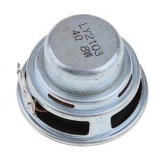 45mm 4Ohm 8W Full Range Audio Speaker Round Loudspeaker 18 Coil Rubber Edge
