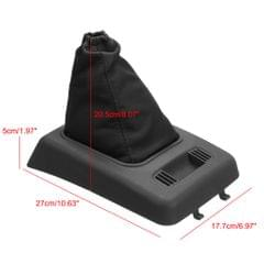 Car Gear Shift Stick Gaiter Dust Cover w/ Retainer for Ford Transit Connect