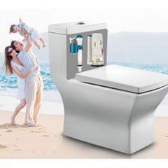 Connected Toilet Tank Repair Kits Toilet Flush Valve Drain Fill Valve 24cm