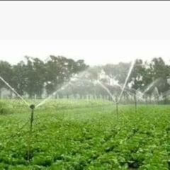 Irrigation Water Sprinkler Silver Spray Nozzle Connector