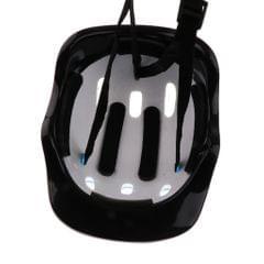 Kids Helmet Knee Elbow Wrist Protective Pad Set for Inline Skating Bike Blue